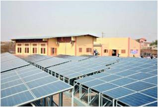 Grid-connected solar power plant in Mali (216kwc)