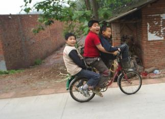 Still only a few children in rural areas are possessing an own bicycle