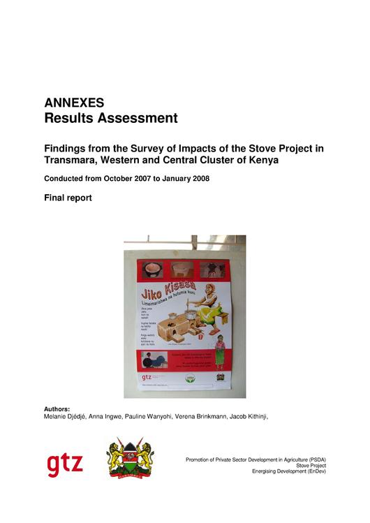 File:Findings from the Survey of Impacts of the Stove Project in Transmara, Western and Central Cluster of Kenya (2009).pdf