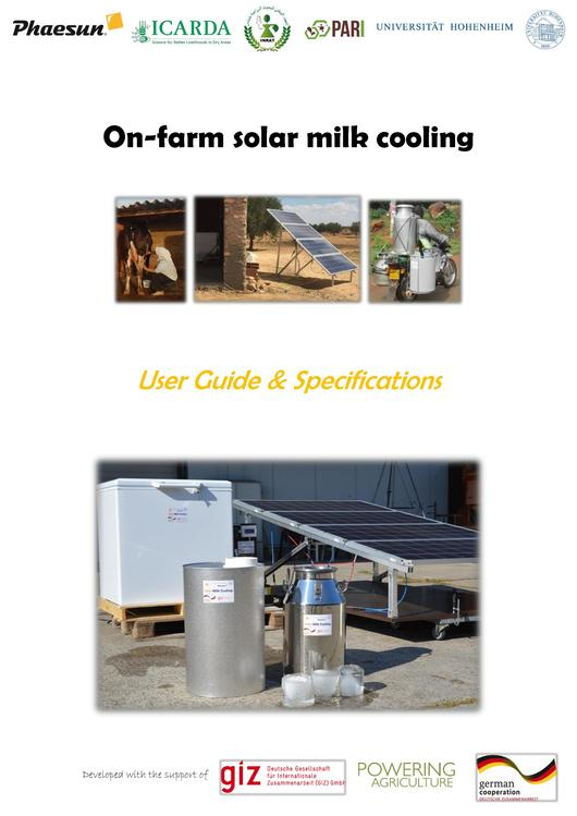 File:User Guide - On-farm Solar Milk Cooling System.pdf