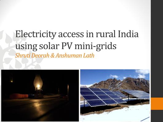 File:Electricity Access in Rural India Using Solar PV Mini-grids.pdf