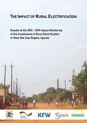 Gaul, M., Berg, C., Schmidt, M., Alff, U., Luh, V., and Schröder, M. (2019). The Impact of Rural Electrification – Results of the 2013-2019 Impact Monitoring of the Investments in Rural Electrification in West Nile Sub-Region, Uganda. KfW Development Bank, Frankfurt am Main.
