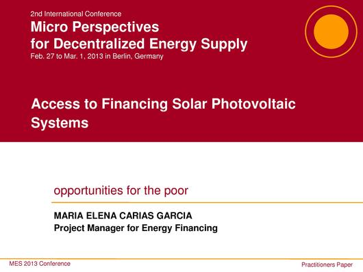 File:Access to Financing Solar Photovoltaic System.pdf