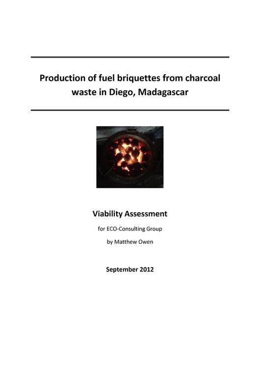 File:Production of Fuel Briquettes from Charcoal Waste in Madagascar.pdf