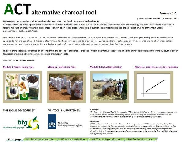 ACT Alternative Charcoal Tool (to download)