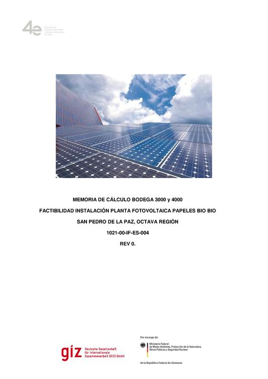 File:Feasibility Study for the Installation of a PV Plant in Papeles BIO BIO, San Pedro de la Paz, VIII Region.pdf