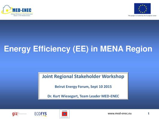 File:Dr. Kurt Wiesegart, MED-ENEC Project (Energy Efficiency in the Construction Sector).pdf