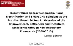 Decentralized Energy Generation, Rural Electrification and Smart Grid Solutions at the Brazilian Power Sector.pdf