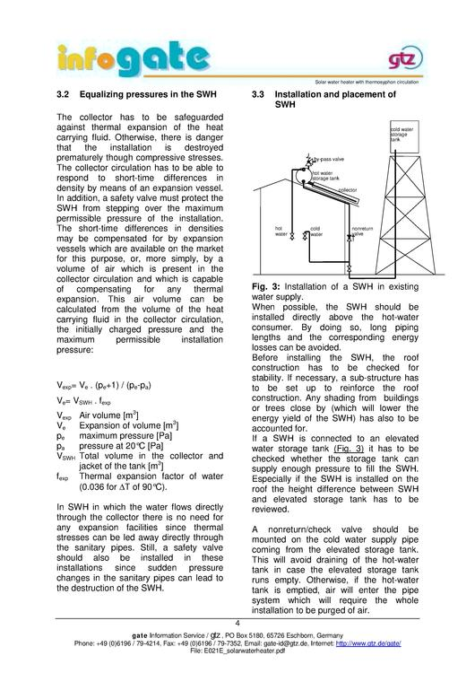 File:Solar Water Heater with Thermosyphon Circulation GATE 2003 ...