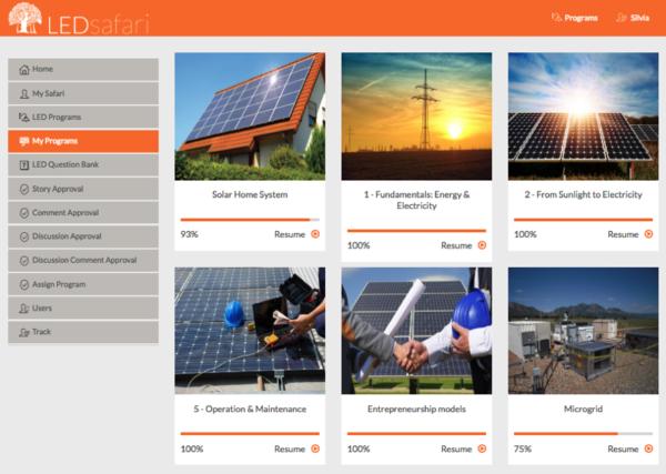HelioLearn Online Training Platform - energypedia info