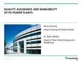 QS and Bankability of Solar workshop Fraunhofer.pdf