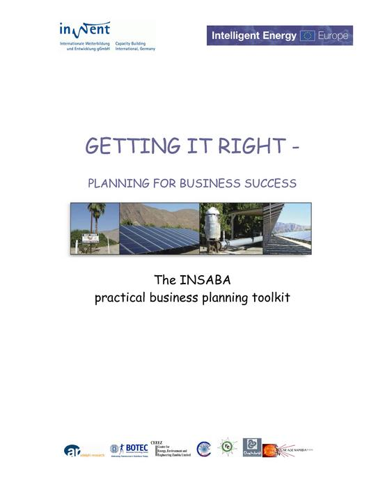 Business Plan Template and Instructions Manual