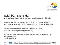 Solar DC Nanogrids - A Promising Low-cost Approach to Village Electrification.pdf
