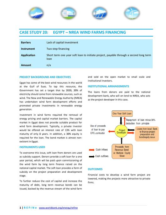 File:Egypt - NREA wind farms financing .pdf