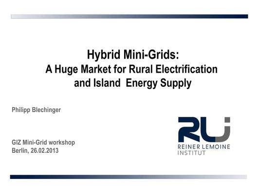 File:Hybrid Mini-Grids A Huge Market for Rural Electrification and Island Energy Supply Blechinger.pdf