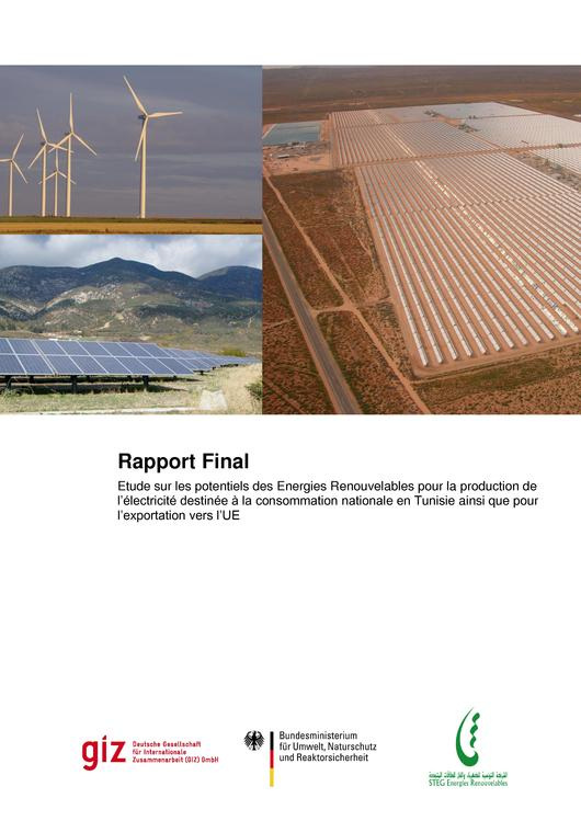 File:Renewable energy potential for electricity generation for national consumption in Tunisia and export to the EU (French version).pdf