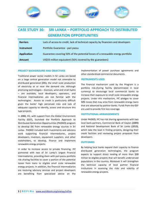 File:SriLanka - Portfolio Approach to Distributed Generation Opportunities.pdf