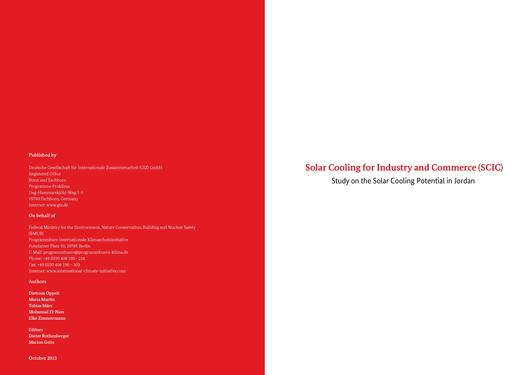 File:Solar Cooling for Industry and Commerce – Study on the Solar Cooling Potential in Jordan.pdf