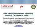 Value & Employment Effects of a bottom Up Approach - The Example of Tunisia.pdf