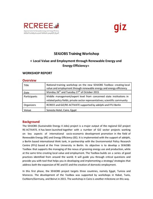 Report writing services workshop training