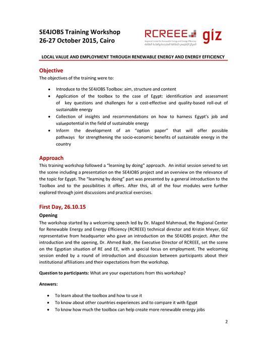 File:Workshop Report Cairo pdf - energypedia info