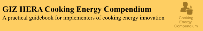 GIZ HERA Cooking Energy Compendium