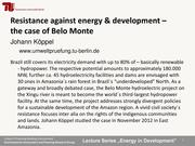 Resistance Against Energy & Development - Presentation