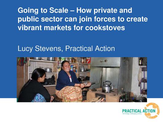 File:Going to Scale - How private and public sector can join forces to create vibrant markets for cookstoves Lucy Stevens Bonn 2013.pdf