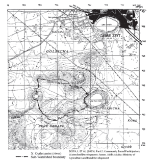 Watershed Deliniation Topographic Map.png