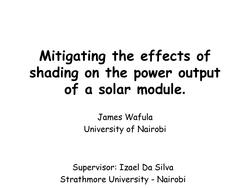Mitigating the Effects of Spot Shading on the Power Output of a Solar Module.pdf
