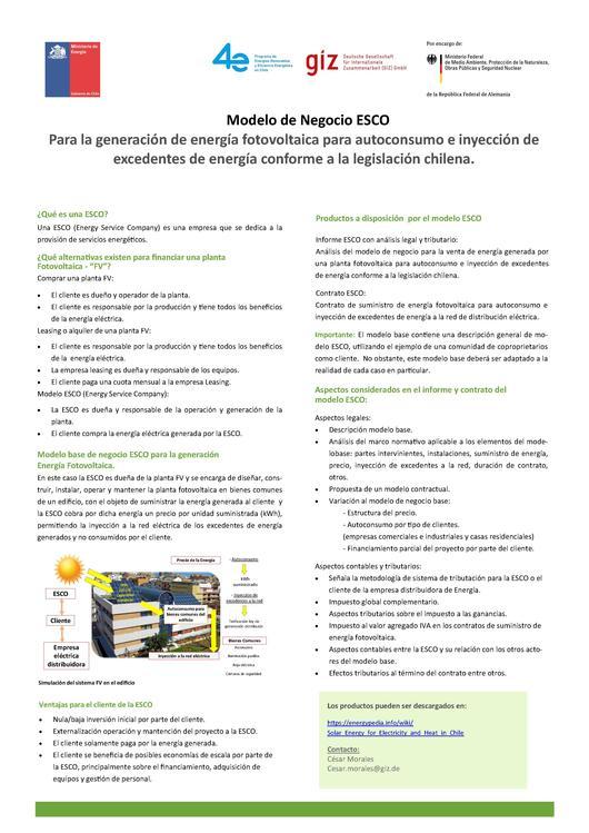 file factsheet esco español pdf
