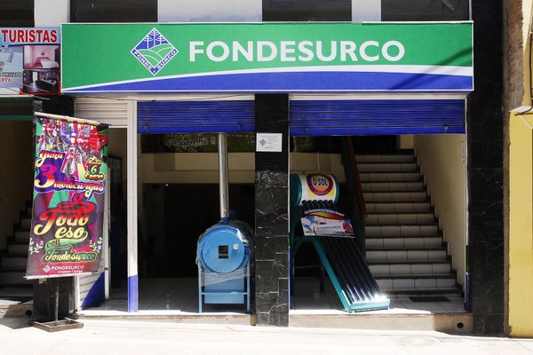 The microfinance institution Fondesurco in Chivay, Arequipa, Peru. (Picture: GIZ Energising Development Peru)