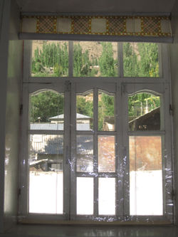 GIZ Volkmer Tajikistan window curtain on the inside.jpg