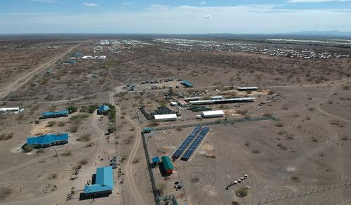 Mini-Grid in Kalobeyei.Source: Renewvia Energy