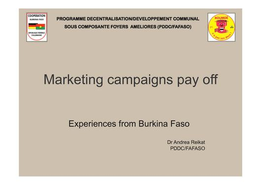 File:GTZ Burkina Faso Marketing campaigns pay off 2007.pdf