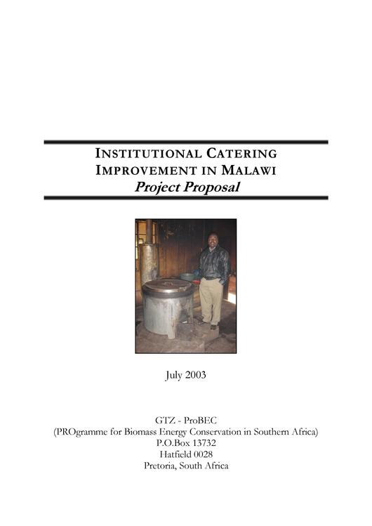 File:2003 GIZ ProBEC Institutional Catering Improvement in Malawi.pdf