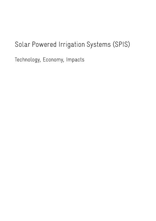 File:Solar Powered Irrigation Systems (SPIS) - Technology, Economy, Impacts.pdf