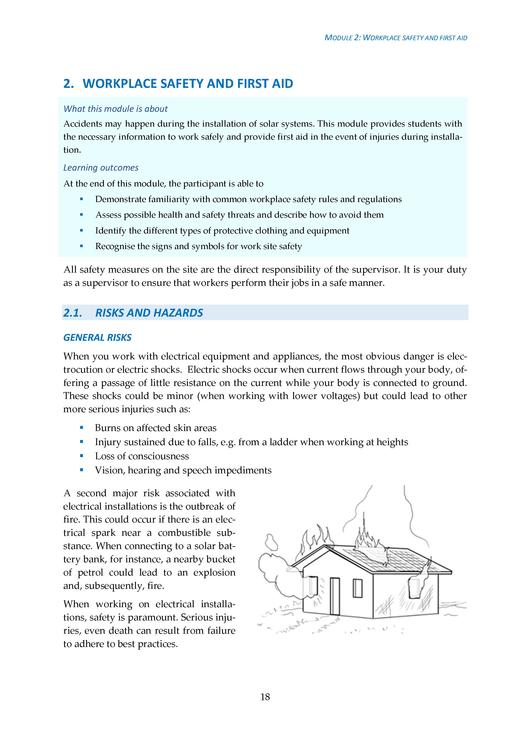 Filesolar Pv Installation Supervision Training Handbook Nigeria