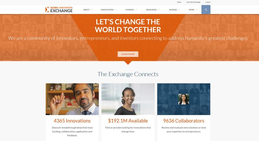 Screenshot Website Global Innovation Exchange.JPG