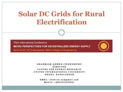 Solar DC Grids for Rural Electrification - An Overview.pdf