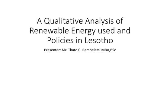 File:A Qualitative Analysis of Renewable Energy used and Policies in Lesotho.pdf
