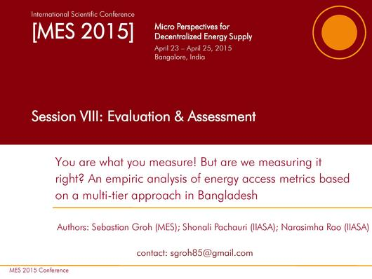 File:An Empirical Analysis of Energy Access metrics Based on a Mutli-tier Approach in Bangladesh.pdf