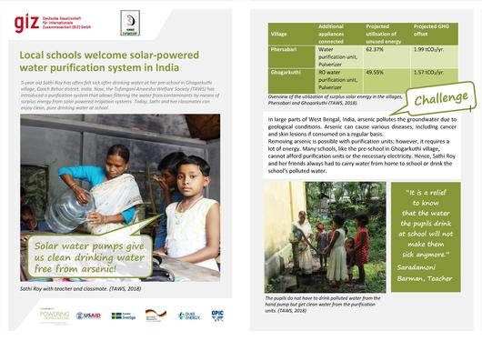 File:Story Sheet-Local schools welcome solar-powered water purification system in India.pdf