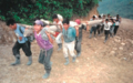Gua 25- Local Workers Carrying Construction Materials for the Micro-Hydroelectric Plant in Chel.PNG