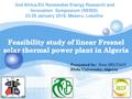 Feasibility Study of a Linear Fresnel Solar Thermal Power Plant in Algeria.pdf