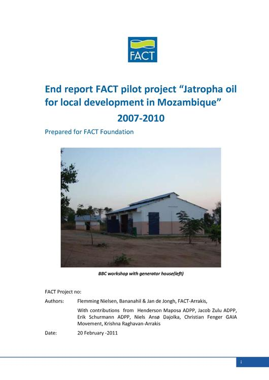 File:EN-End report FACT pilot Jatropha oil for local devepment in Mozambique 2007-2010-Flemming Nielsen.pdf