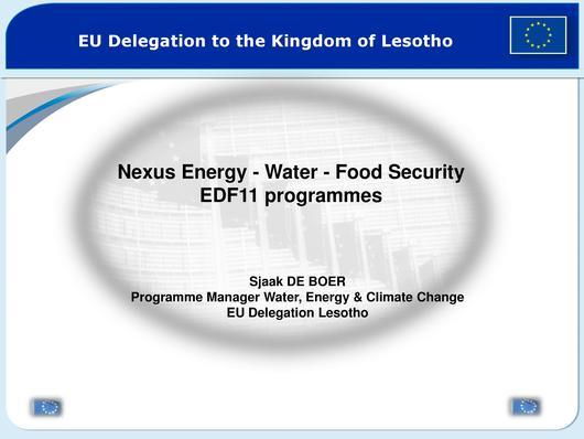 File:Energy Water Food Security EDF11 programmes Sjaak