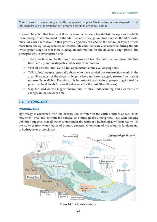 Hydrology Handbook Pdf
