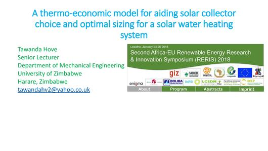 File:A Thermo-economic Model for Aiding Solar Collector Choice and Optimal Sizing for a Solar Water Heating System.pdf