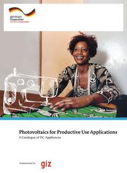 Catalogue of PV driven appliances for Productive Uses